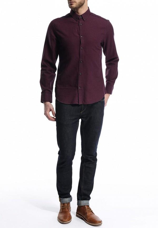 Рубашка с длинным рукавом Burton Menswear London 22G01FRED: изображение 7