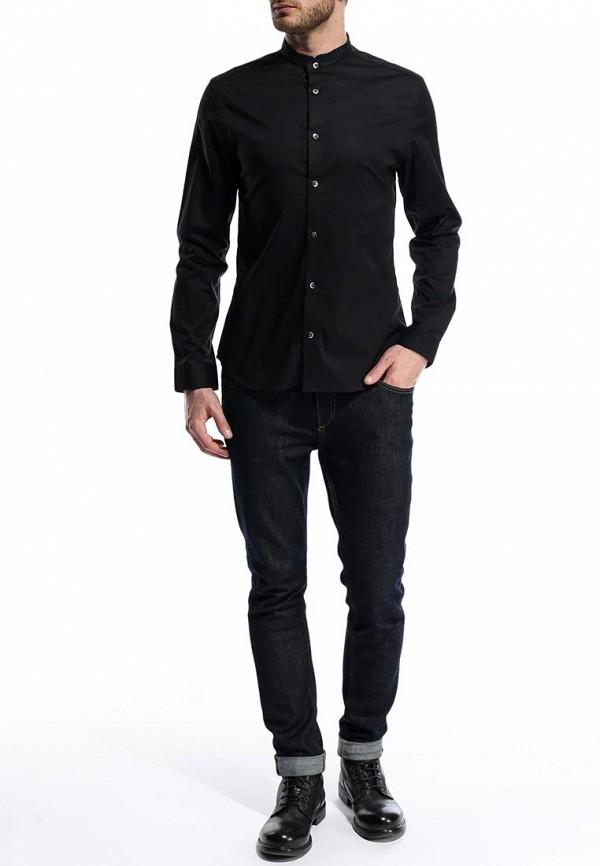 Рубашка с длинным рукавом Burton Menswear London 22J01FBLK: изображение 4