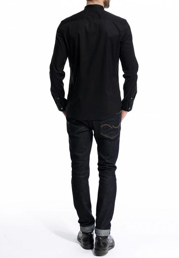 Рубашка с длинным рукавом Burton Menswear London 22J01FBLK: изображение 5