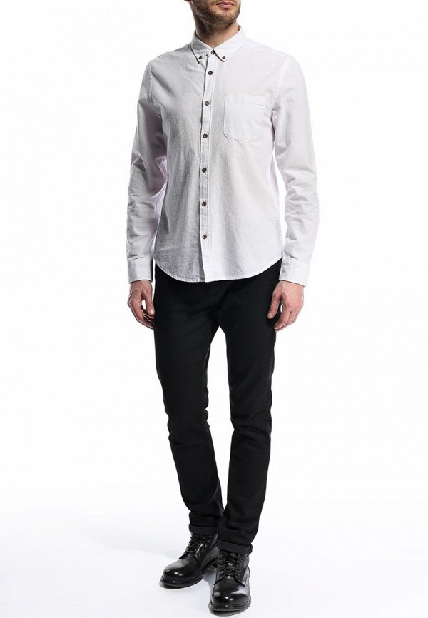 Рубашка с длинным рукавом Burton Menswear London 22O03FWHT: изображение 7