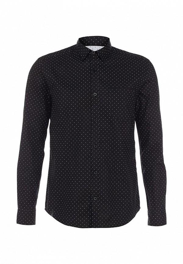 Рубашка с длинным рукавом Burton Menswear London 22P09FBLK: изображение 1