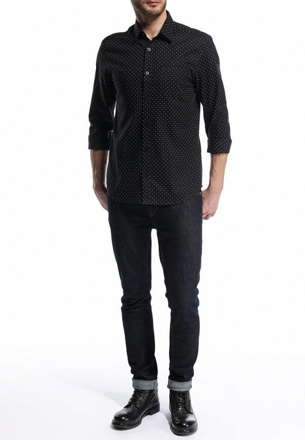 Рубашка с длинным рукавом Burton Menswear London 22P09FBLK: изображение 4