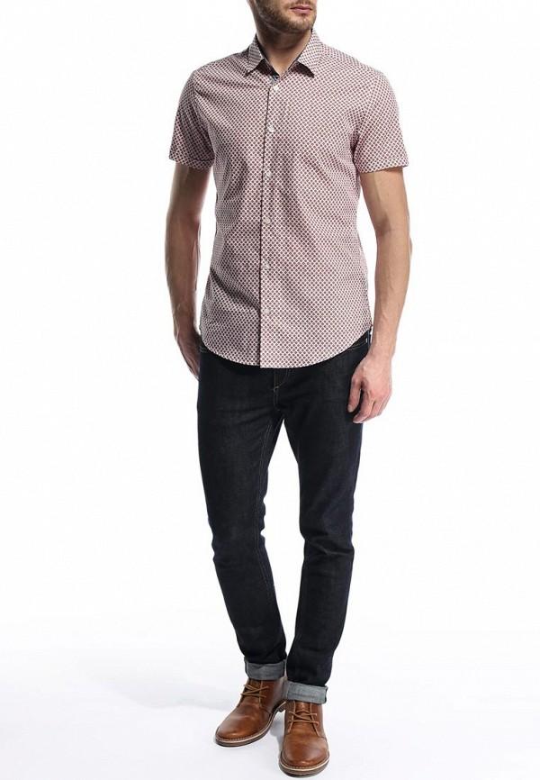 Рубашка с коротким рукавом Burton Menswear London 22P28FWHT: изображение 4