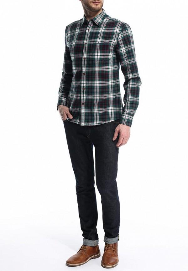 Рубашка с длинным рукавом Burton Menswear London 22S01GRED: изображение 4