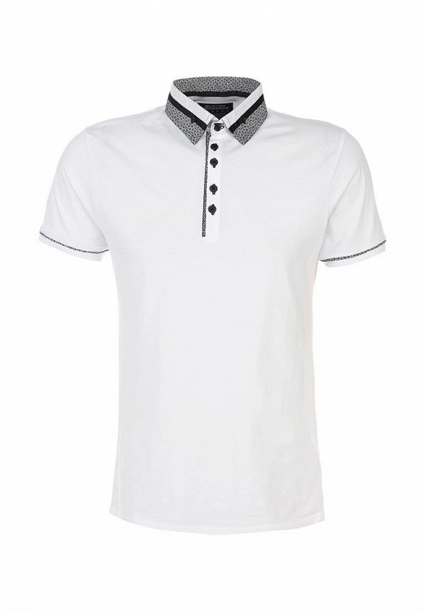 Мужские поло Burton Menswear London 45W10FWHT: изображение 1