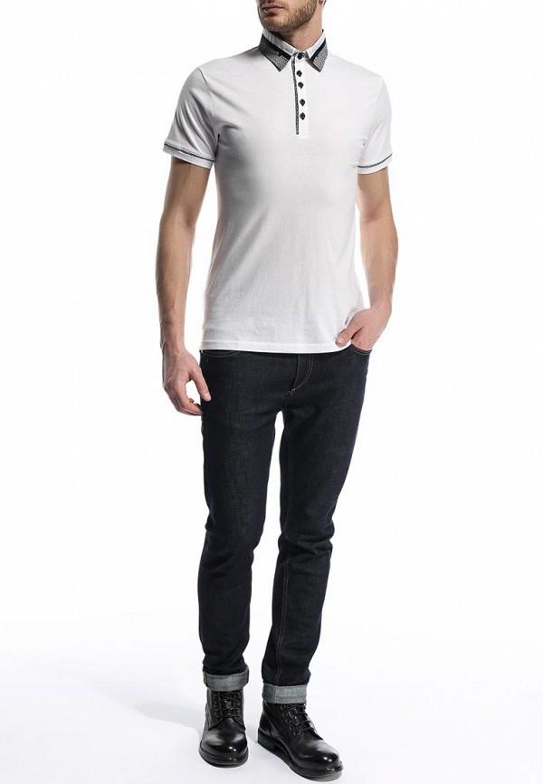 Мужские поло Burton Menswear London 45W10FWHT: изображение 4