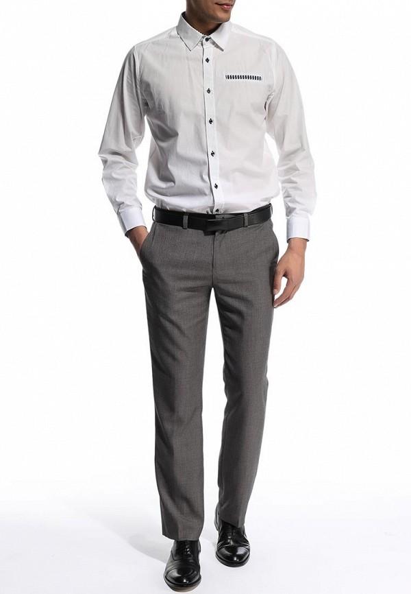 Мужские классические брюки Burton Menswear London 05T03FGRY: изображение 3