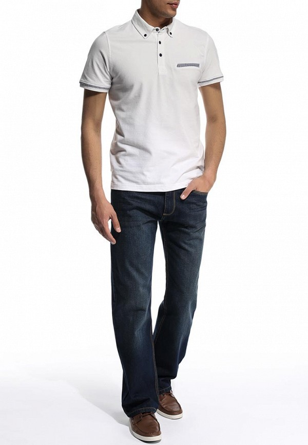 Мужские прямые джинсы Burton Menswear London 12R06EBLU: изображение 3