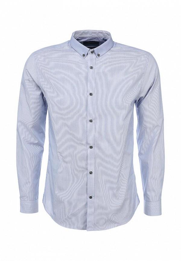 Рубашка с длинным рукавом Burton Menswear London 19F02FBLU: изображение 1