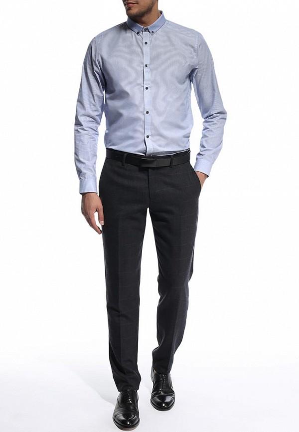 Рубашка с длинным рукавом Burton Menswear London 19F02FBLU: изображение 3