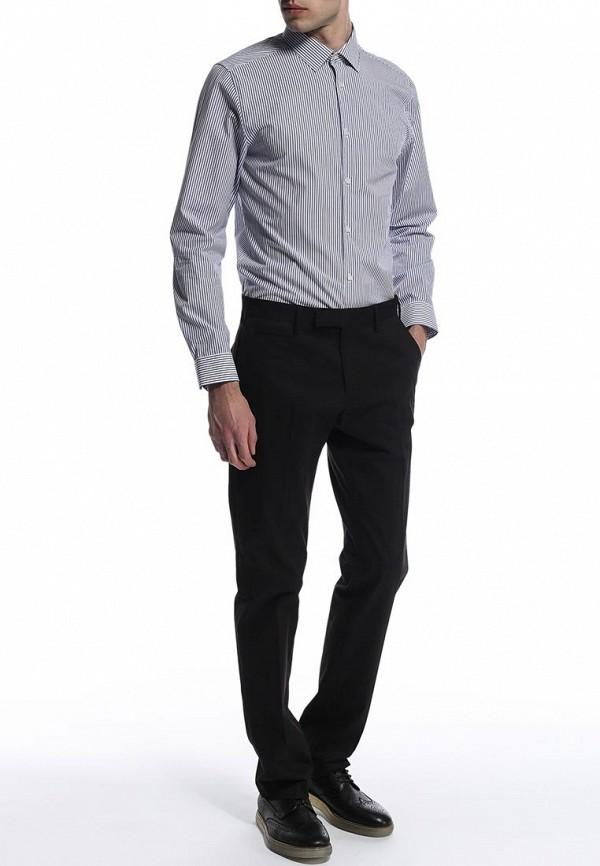 Рубашка с длинным рукавом Burton Menswear London 19P05GBLU: изображение 5