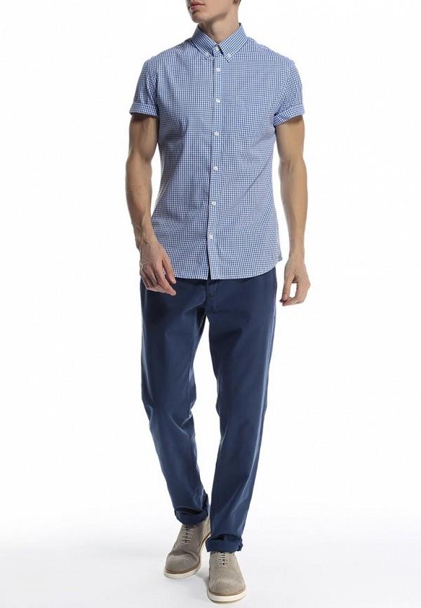 Рубашка с коротким рукавом Burton Menswear London 22G09GBLU: изображение 3
