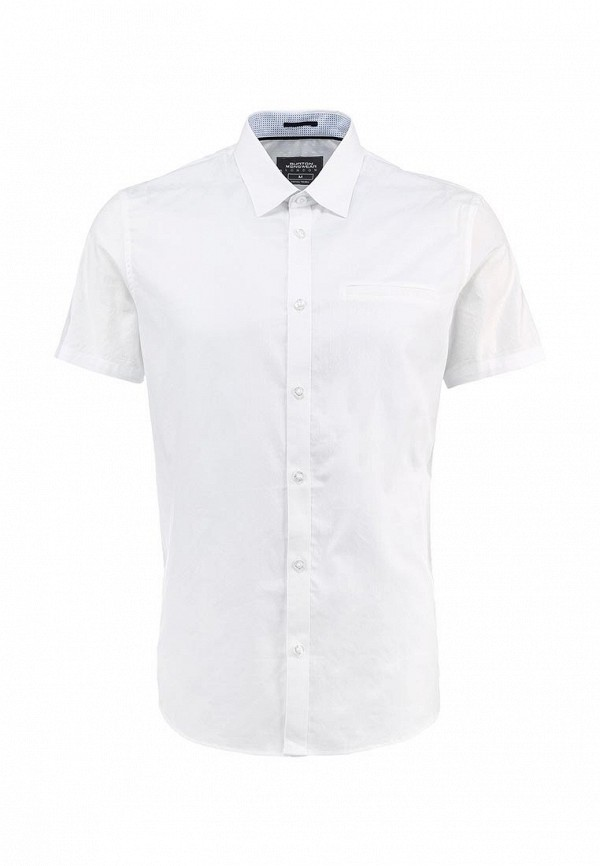 Рубашка с коротким рукавом Burton Menswear London 22P34GWHT: изображение 1