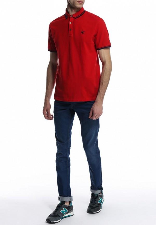 Мужские поло Burton Menswear London 45K07GRED: изображение 4