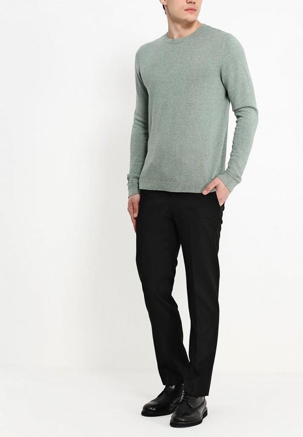 Мужские классические брюки Burton Menswear London 05T01FBLK: изображение 3