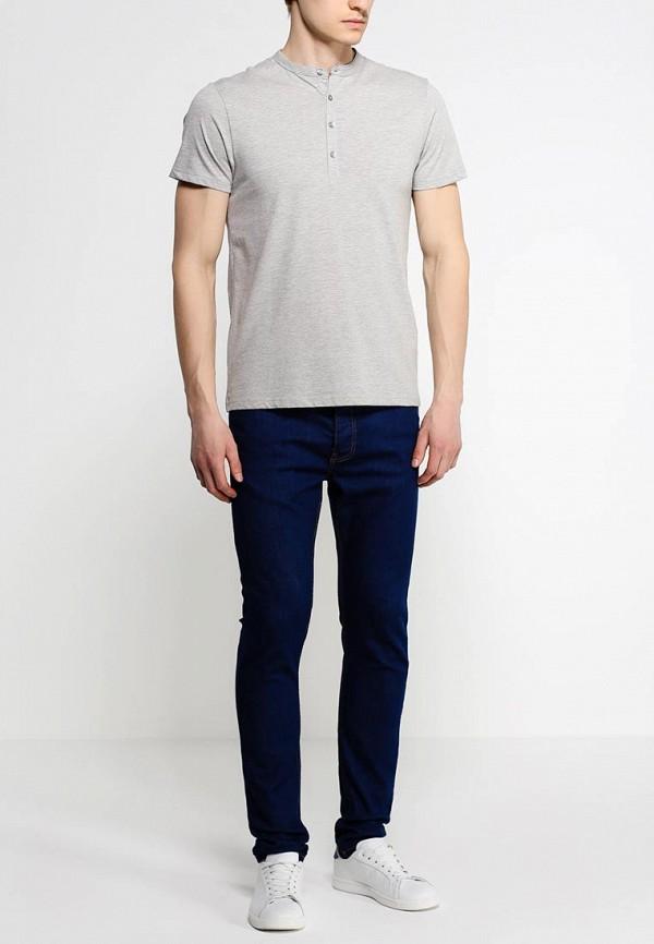 Зауженные джинсы Burton Menswear London 12S19GBLU: изображение 3
