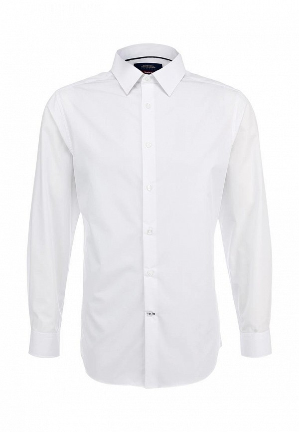 Рубашка с длинным рукавом Burton Menswear London 19B02FWHT: изображение 1