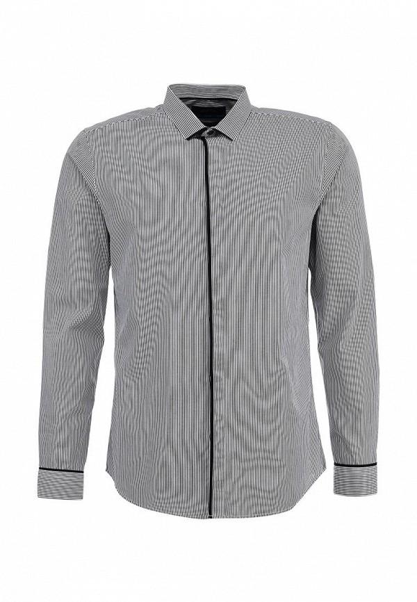 Рубашка с длинным рукавом Burton Menswear London 19F02FGRY: изображение 1