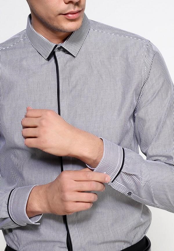Рубашка с длинным рукавом Burton Menswear London 19F02FGRY: изображение 2