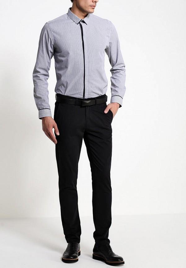 Рубашка с длинным рукавом Burton Menswear London 19F02FGRY: изображение 3