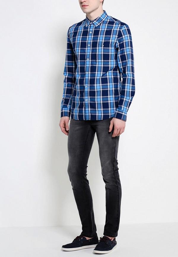 Рубашка с длинным рукавом Burton Menswear London 22S03GBLU: изображение 3