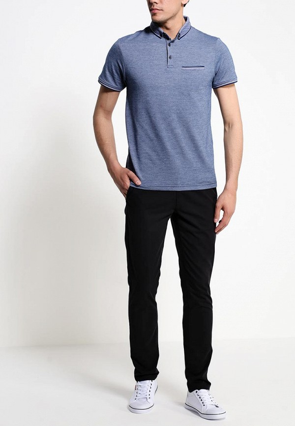 Мужские повседневные брюки Burton Menswear London 23C01GBLK: изображение 3