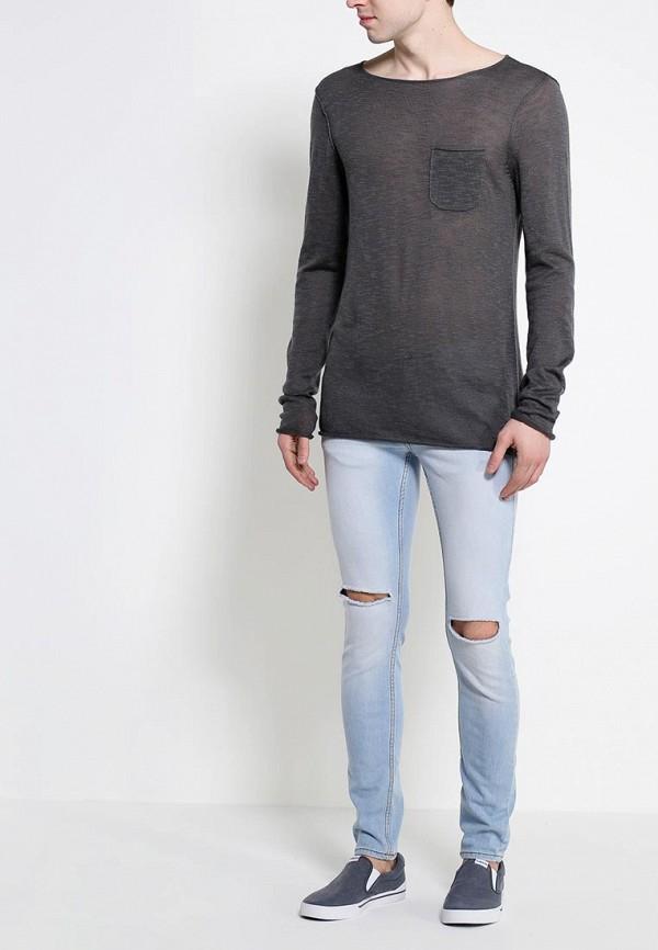 Мужские прямые джинсы Burton Menswear London 12S28GBLU: изображение 3