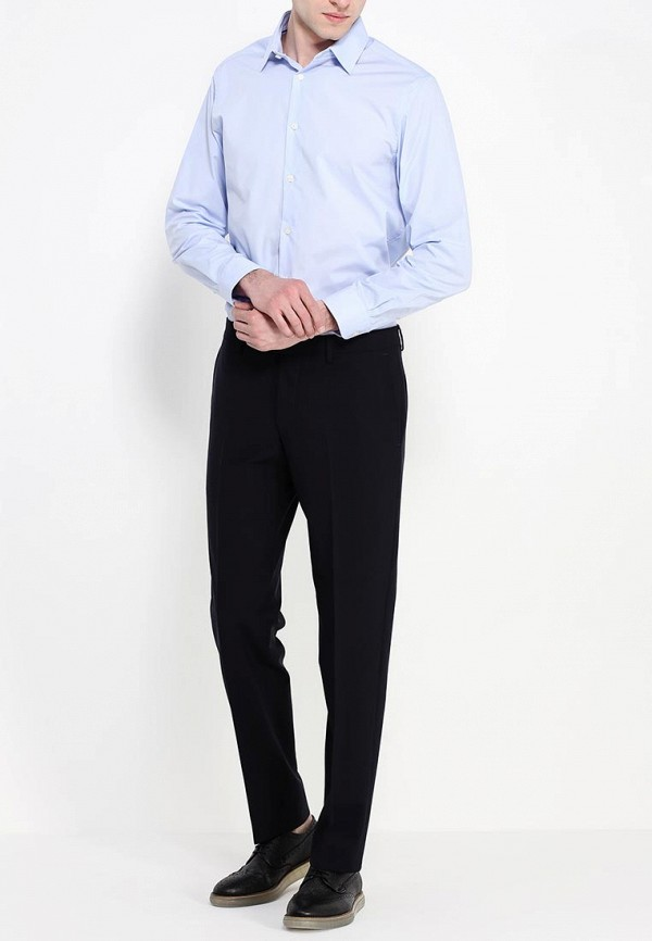 Рубашка с длинным рукавом Burton Menswear London 19B02FBLU: изображение 3