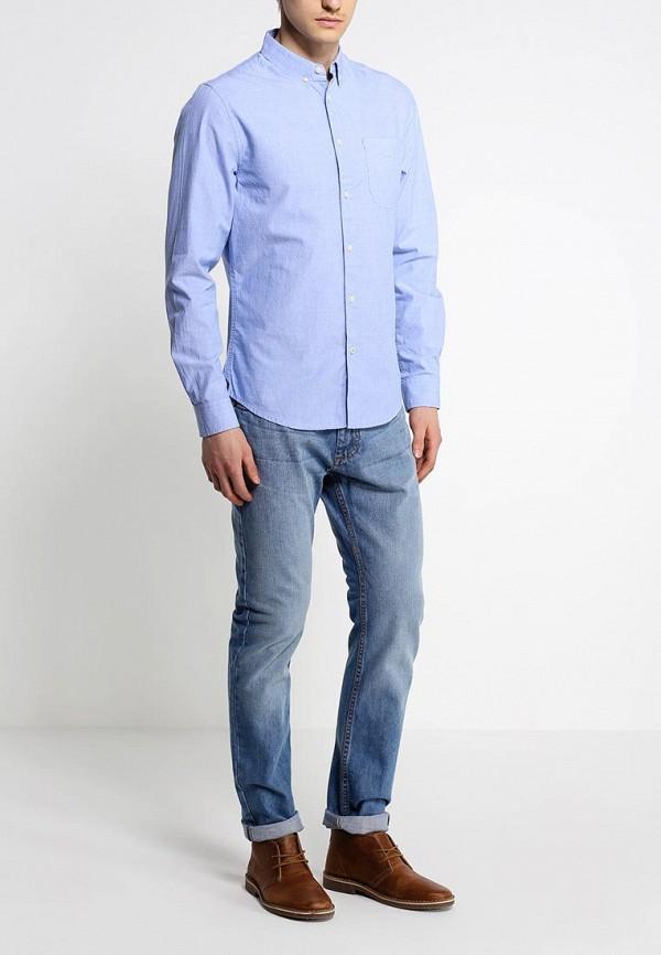 Рубашка с длинным рукавом Burton Menswear London 22C06GBLU: изображение 3