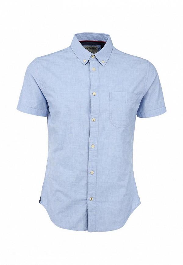 Рубашка с коротким рукавом Burton Menswear London 22C07GBLU: изображение 1
