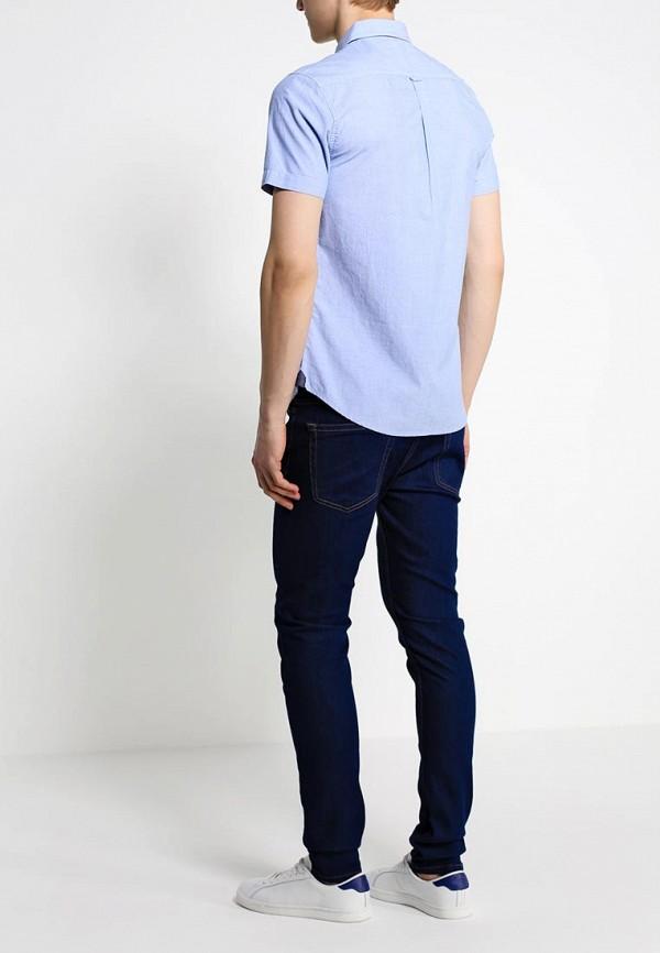 Рубашка с коротким рукавом Burton Menswear London 22C07GBLU: изображение 4