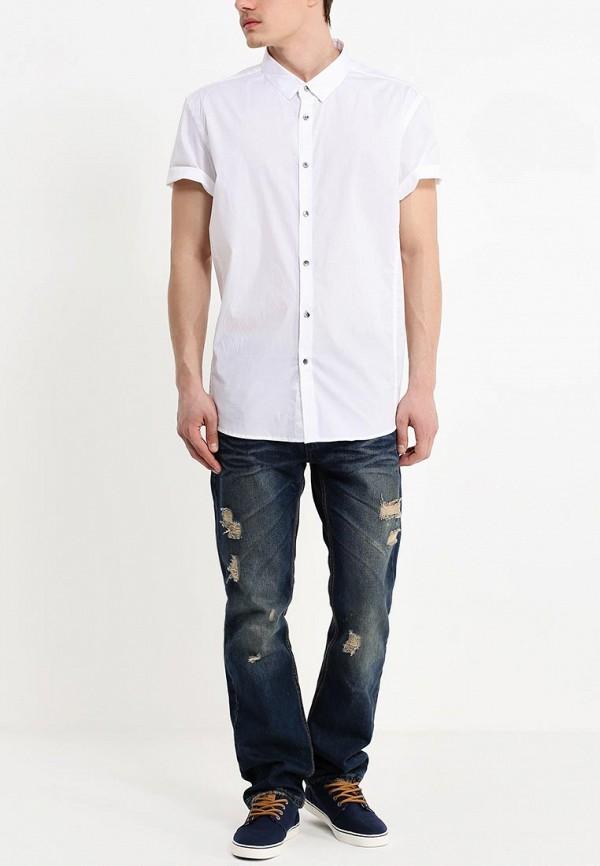 Рубашка с коротким рукавом Burton Menswear London 22D02FWHT: изображение 3