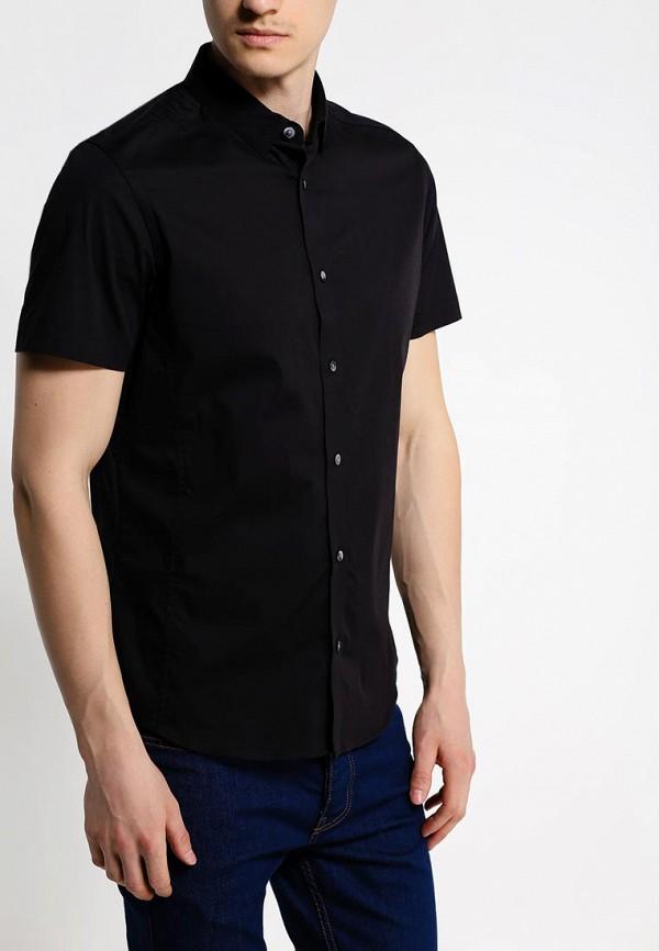 Рубашка с коротким рукавом Burton Menswear London 22D03GBLK: изображение 2