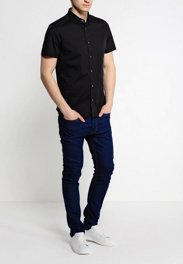 Рубашка с коротким рукавом Burton Menswear London 22D03GBLK: изображение 3