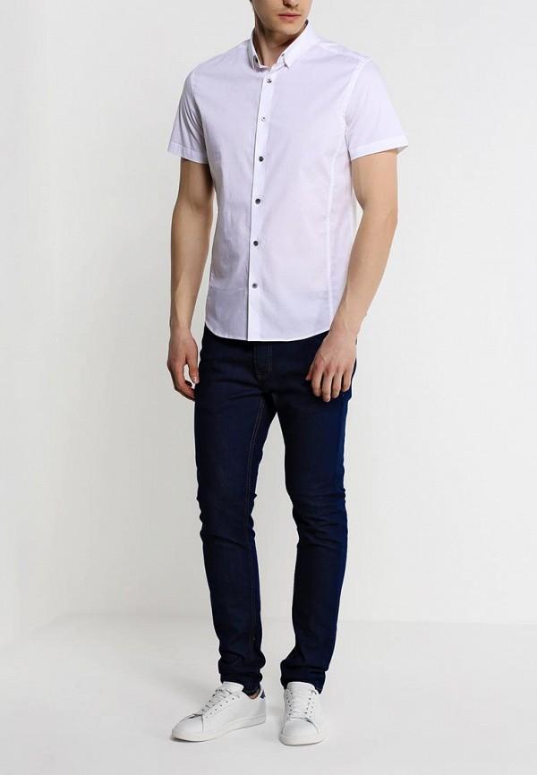 Рубашка с коротким рукавом Burton Menswear London 22D03GWHT: изображение 2