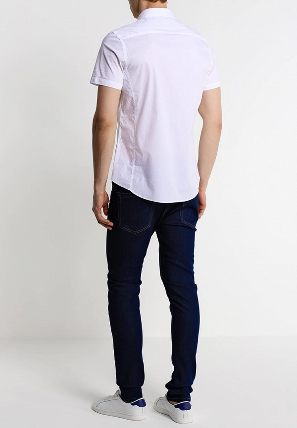 Рубашка с коротким рукавом Burton Menswear London 22D03GWHT: изображение 3