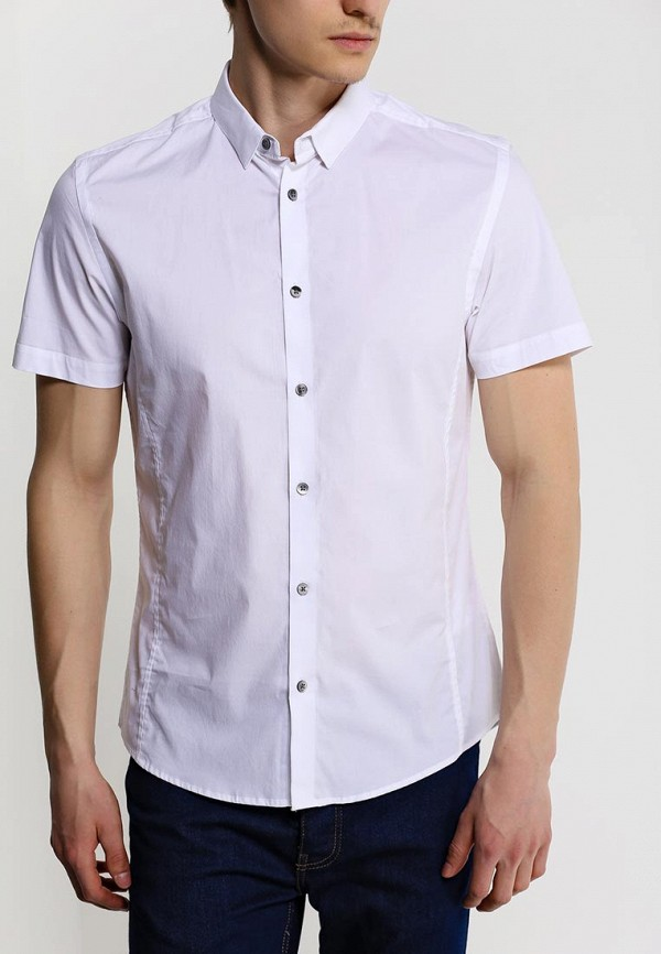 Рубашка с коротким рукавом Burton Menswear London 22D04GWHT: изображение 2