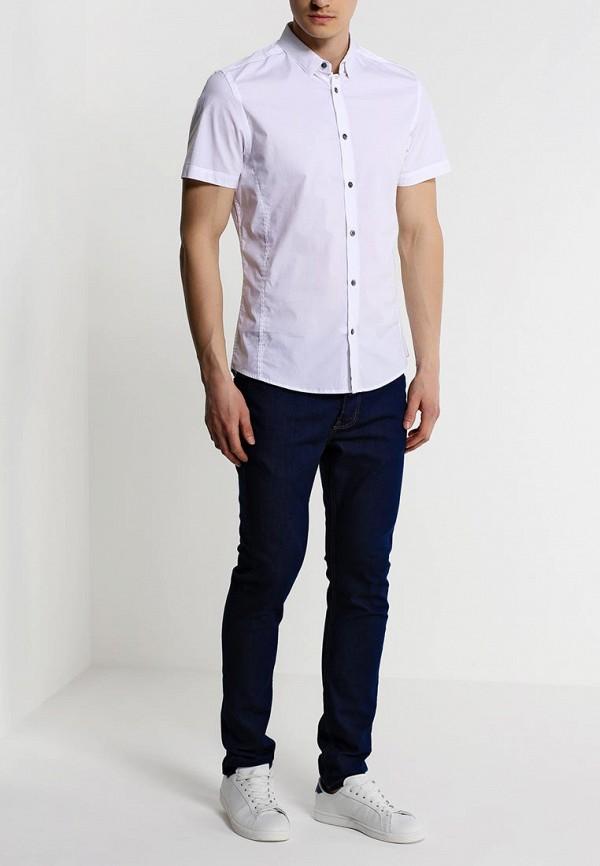 Рубашка с коротким рукавом Burton Menswear London 22D04GWHT: изображение 3