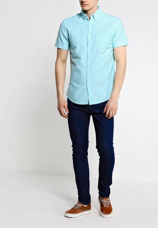 Рубашка с коротким рукавом Burton Menswear London 22D06GGRN: изображение 3