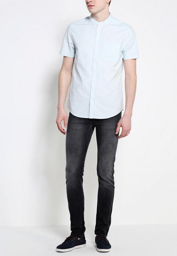 Рубашка с коротким рукавом Burton Menswear London 22D07GWHT: изображение 3