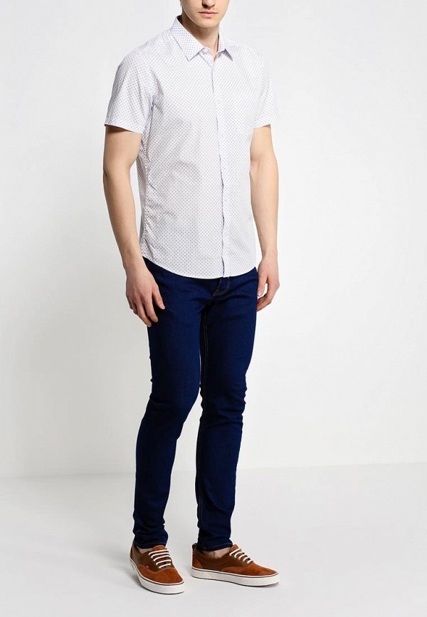 Рубашка с коротким рукавом Burton Menswear London 22P26GWHT: изображение 3