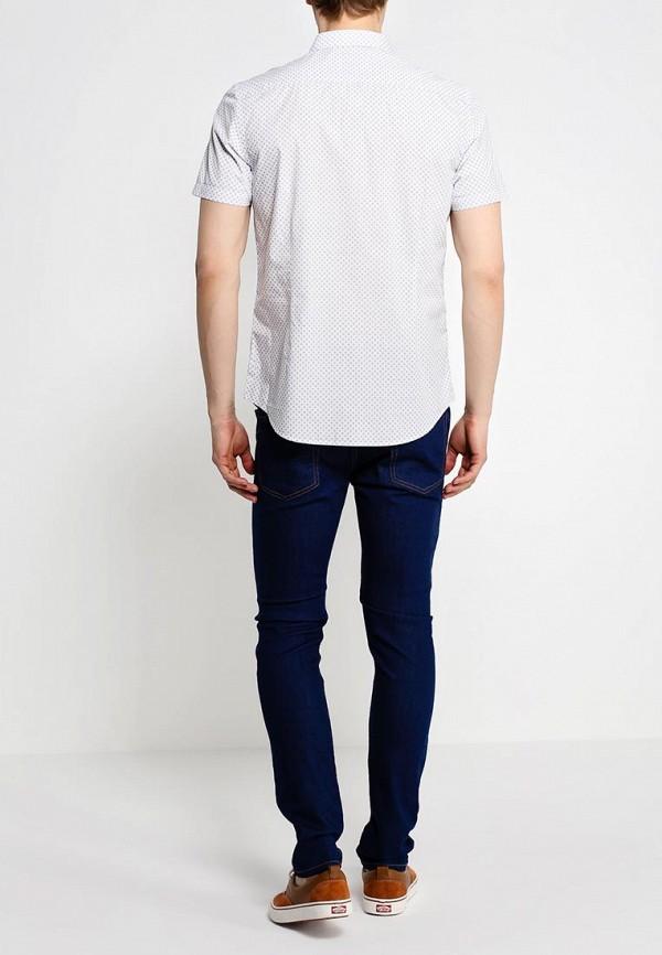 Рубашка с коротким рукавом Burton Menswear London 22P26GWHT: изображение 4