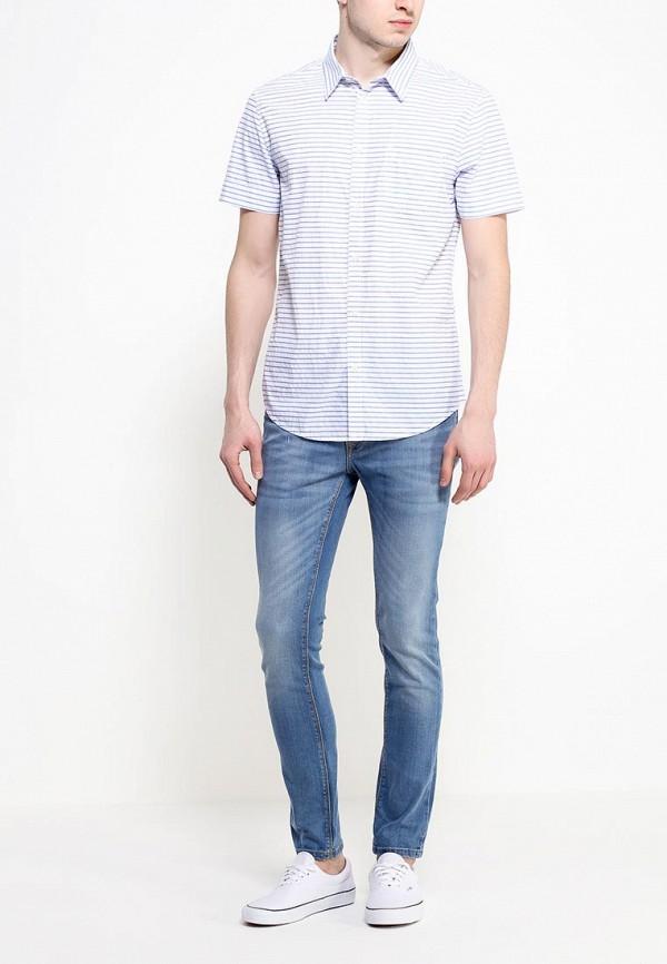 Рубашка с коротким рукавом Burton Menswear London 22P31GWHT: изображение 3