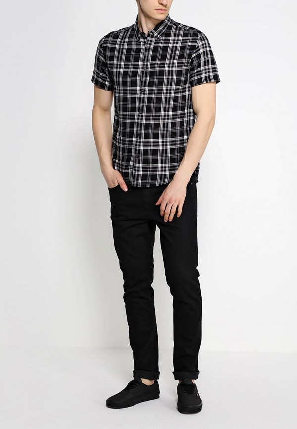 Рубашка с коротким рукавом Burton Menswear London 22S28GBLK: изображение 3