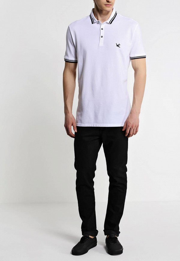 Мужские поло Burton Menswear London 45K03GWHT: изображение 3