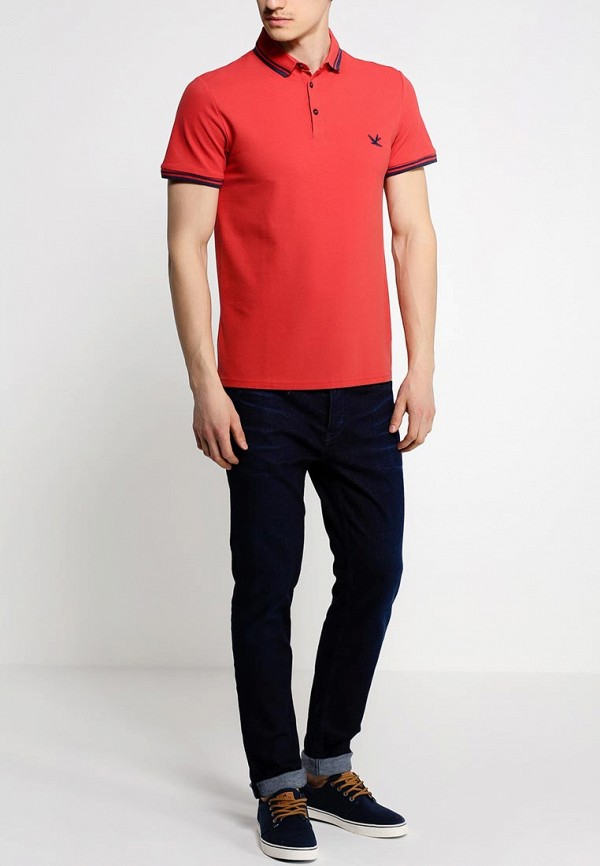 Мужские поло Burton Menswear London 45K05GRED: изображение 3