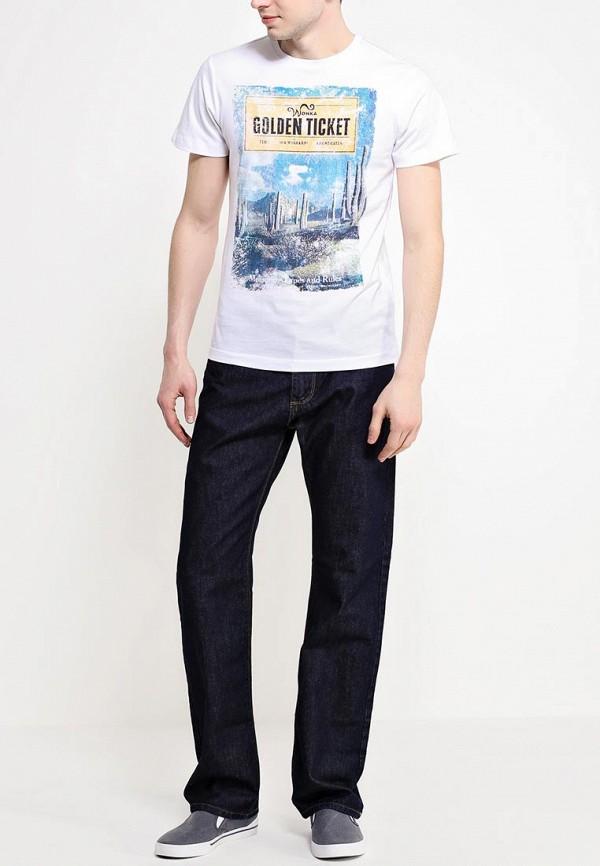 Мужские широкие и расклешенные джинсы Burton Menswear London 12R03GBLU: изображение 3
