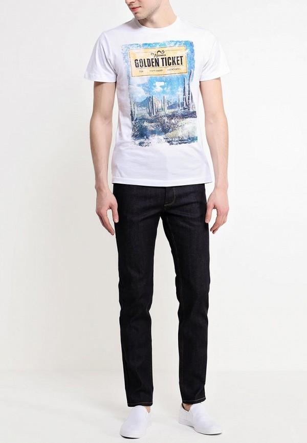 Зауженные джинсы Burton Menswear London 12S02GBLU: изображение 3