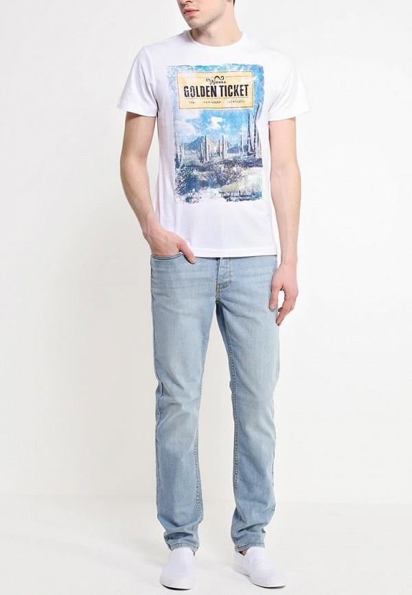 Зауженные джинсы Burton Menswear London 12S27GBLU: изображение 3