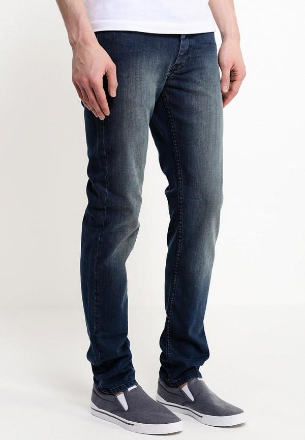 Зауженные джинсы Burton Menswear London 12S29GBLU: изображение 2